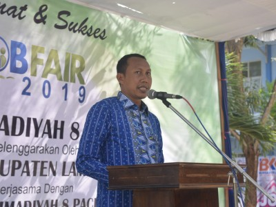 Job Fair 2019 SMK M 8 Paciran
